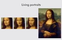 Mona Lisa animowana przez deepfake
