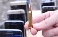 Smartfon zablokował 2 kule i uratował życie