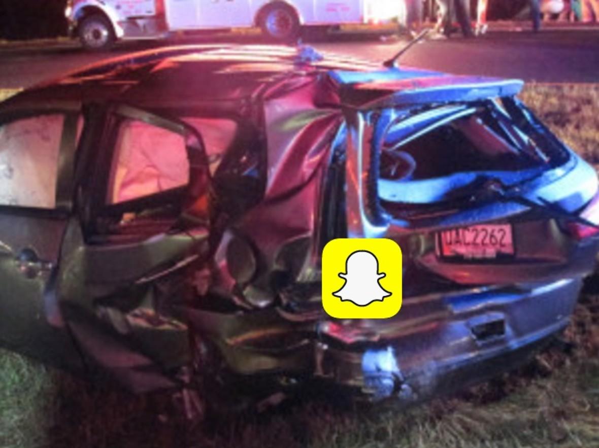 Snapchat pozwany za spowodowanie wypadku