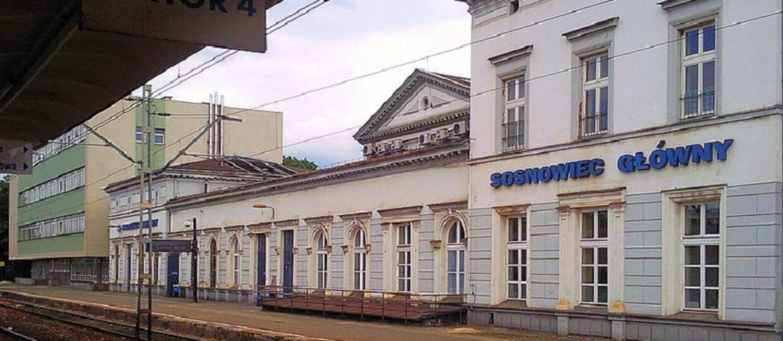 dworzec PKP w Sosnowcu