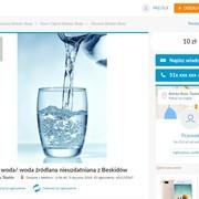 """Surowa woda – najnowszy krzyk mody w """"zdrowej żywności"""""""