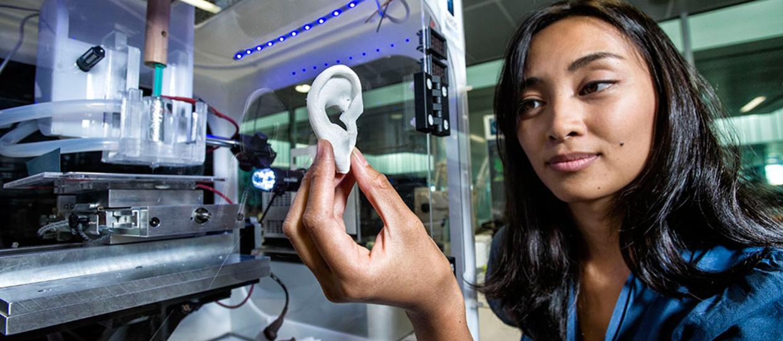 Szpital będzie drukował tkanki i implanty z komórek pacjentów