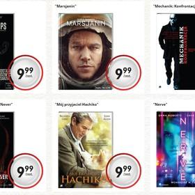 Tanie filmy z Biedronki - pełny spis tytułów i cen