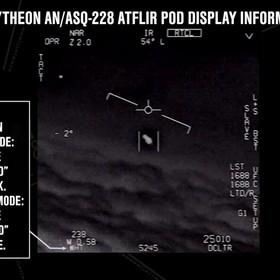 UFO nagrane przez US Navy