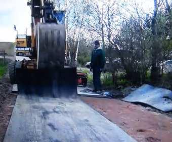 gumowa droga w Kisielicach