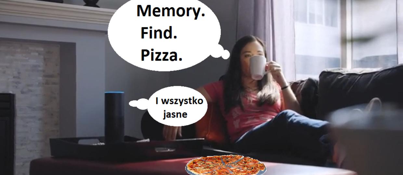 Zamów pizzę przez głośnik