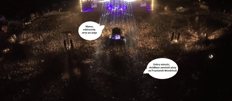 Drony pomogą z zasięgiem telefonów na koncertach