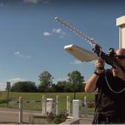 Futurystyczna broń na drony