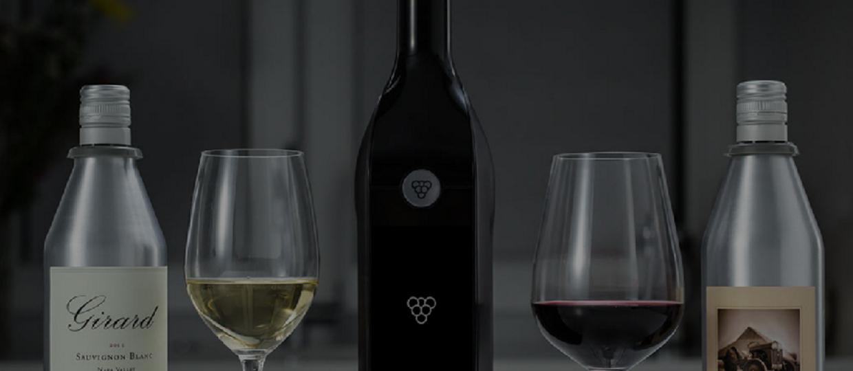 Inteligentna butelka dla koneserów wina