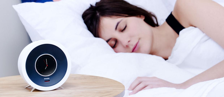 Inteligentny budzik BONJOUR nie pozwoli zaspać