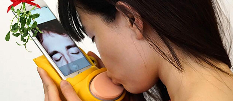 Kissenger pozwala całować się poprzez internet