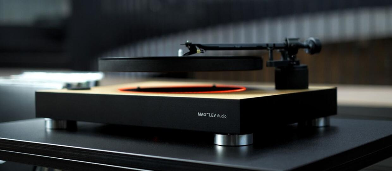 Mag-Lev Audio - gramofon z lewitującymi płytami