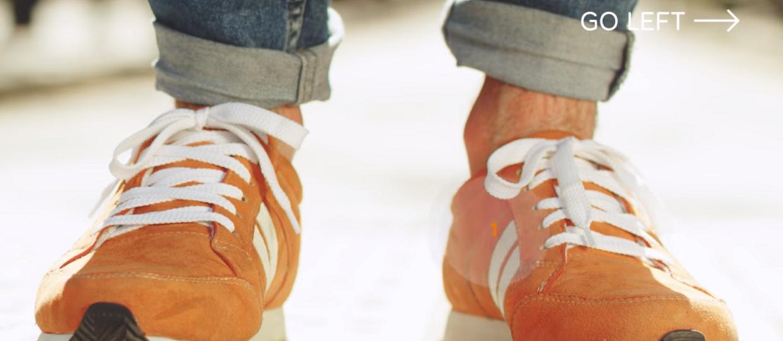 Nawigacyjne buty pokierują do celu