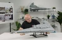 """Niszczyciel gwiezdny Devastator z """"Gwiezdnych wojen: Nowej nadziei"""" nowym, ogromnym zestawem LEGO"""