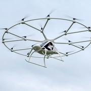 Pierwszy lot pasażerski drona-taksówki