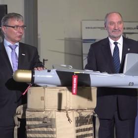 Polska kupiła drony kamikaze