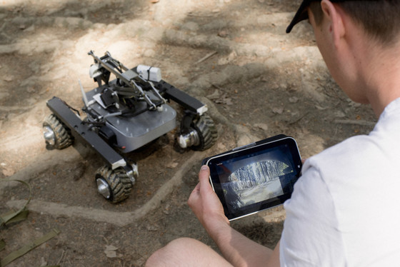 Turtle Rover App In Use