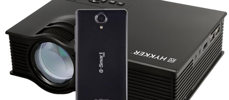 Projektor Hykker i smartfon myPhone z Biedronki – warto kupić?
