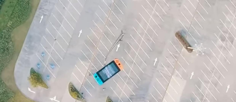 Upadek z 300 metrów niestraszny Nintendo Switch