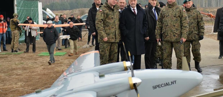 W polskiej armii będą służyć drony