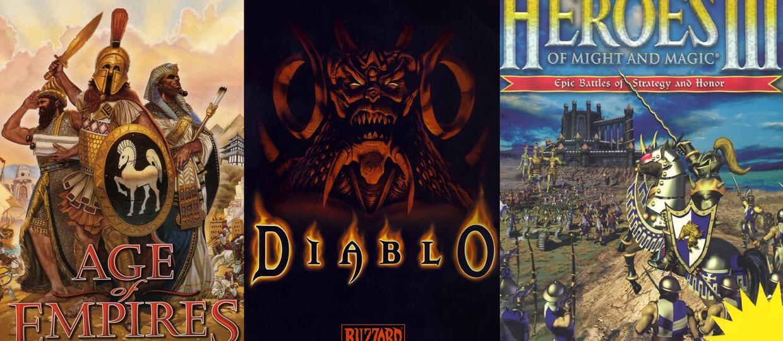15 gier z lat 90., przy których zarywaliśmy noce