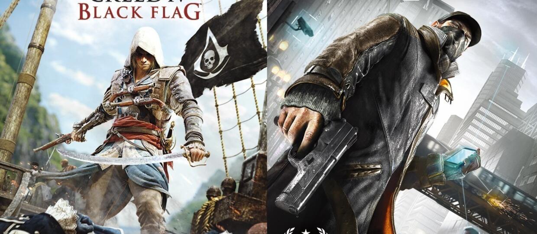 Asssassin's Creed IV: Black Flag i Watch_Dogs za darmo