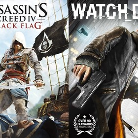 Asssassin's Creed IV: Black Flag i Watch_Dogs za darmo