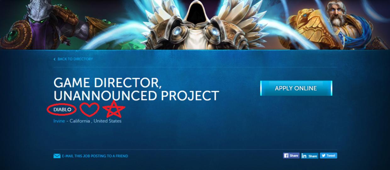 Blizzard szykuje nowe Diablo?