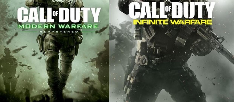 Call of Duty: Modern Warfare Remastered wymaga płyty Infinite Warfare w napędzie
