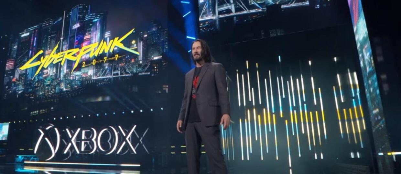 Keanu Reeves w Cyberpunku 2077