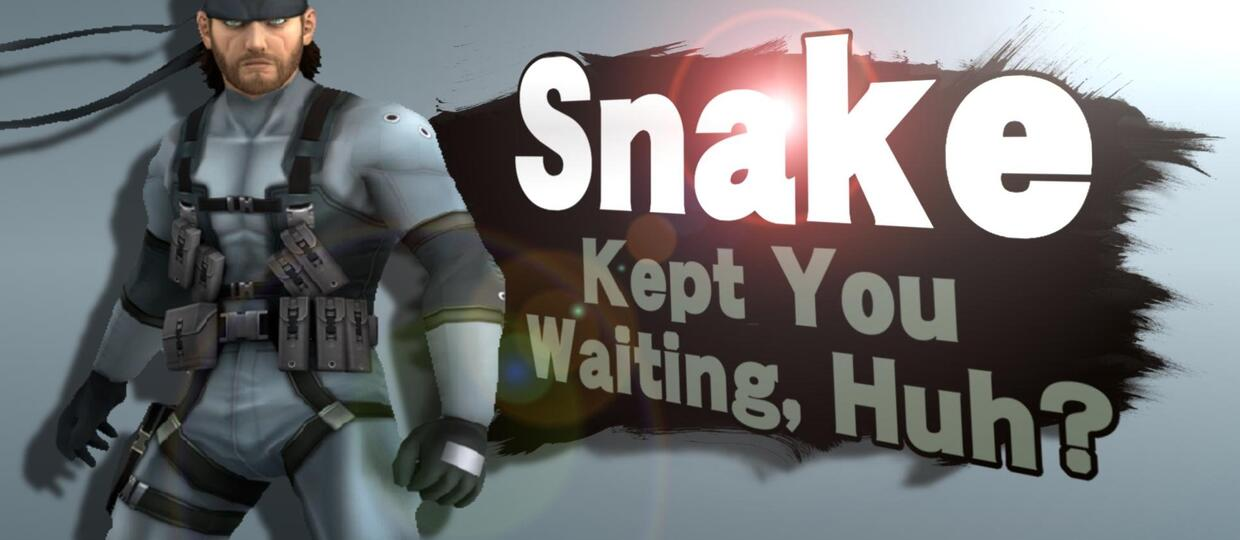 Solid Snake Super Smash Bros.