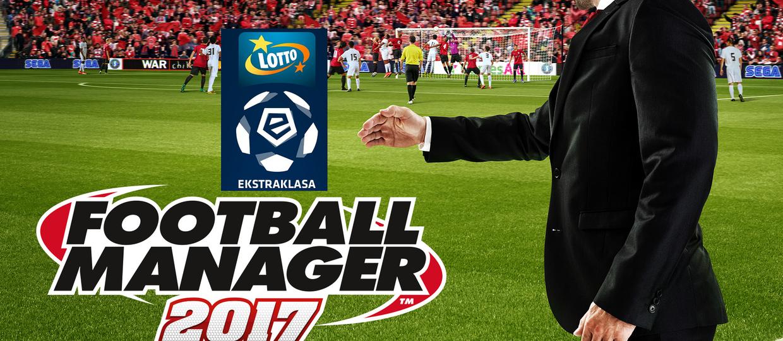 Football Manager 2017 oficjalnie z polską Ekstraklasą