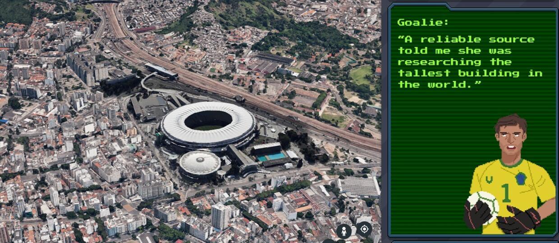 Carmen Sandiego na Google Earth