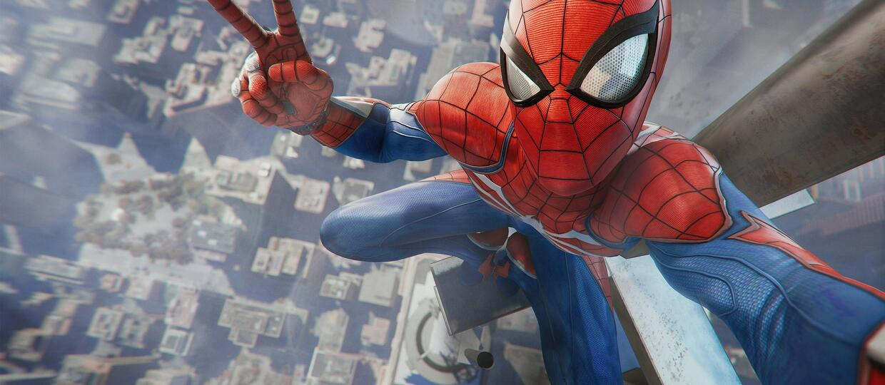 kadr z gry Spider-Man na PS4