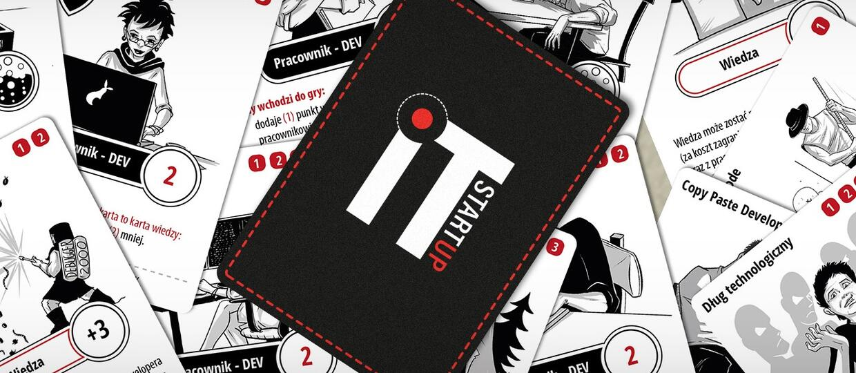 """""""IT Startup"""" - nowa gra karciana, w której zajmujesz się firmą informatyczną"""