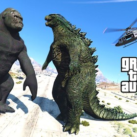 Godzilla i King Kong w Gta V