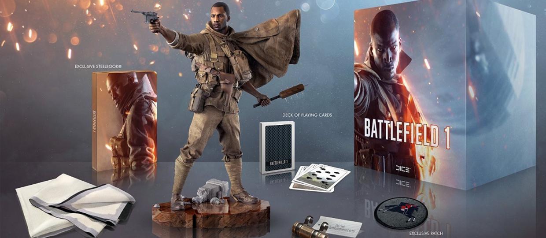 Kolekcjonerski Battlefield 1 nie zawiera gry