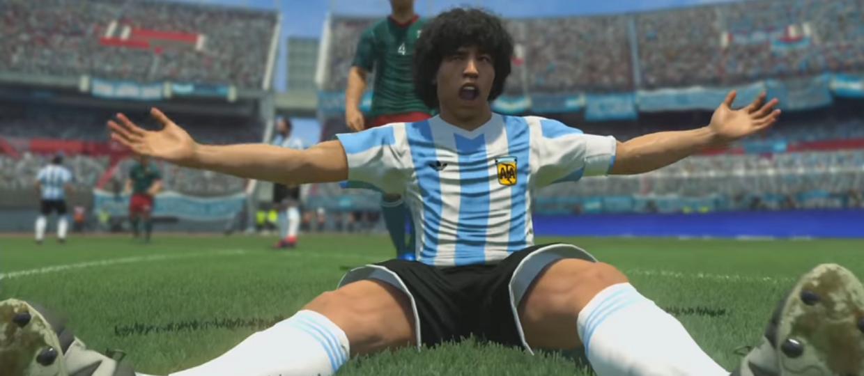 Maradona chce pozwać Konami za PES 2017