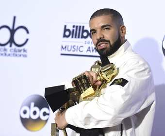 Drake na Billboard Awards 2017