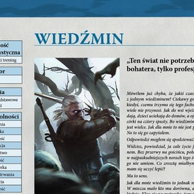 kartka z podręcznika The Witcher RPG
