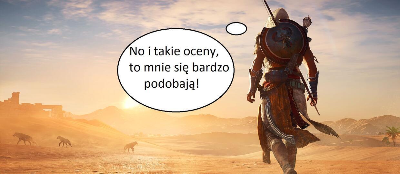 """Przegląd pierwszych ocen gry """"Assassin's Creed: Origins"""""""