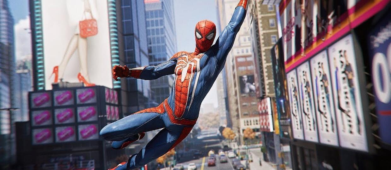 gra Spider-Man na PS4