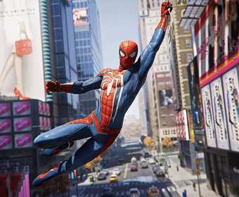 gra Spider-Man na PS4