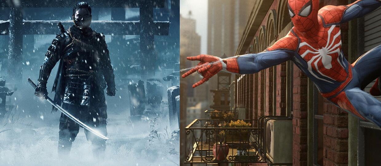 Spider-Man i Ghost of Tsushima