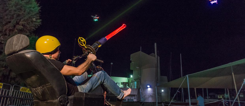 Space Invaders atakują na dronach