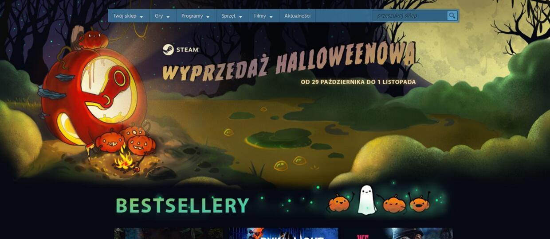 Steam wyprzedaż Halloween