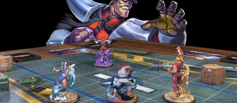 Figurki ze Street Fighter: The Miniatures Game