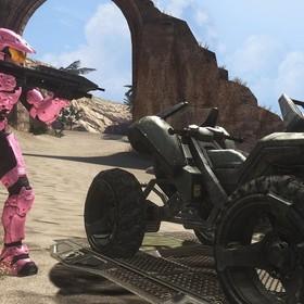różowy Master Chief z Halo