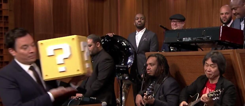 Twórca Mario i The Roots wykonują muzykę z Super Mario Bros.