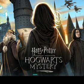 Ekran tytułowy gry harry Potter Hogwarts Mystery